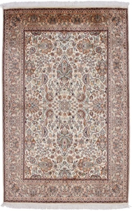 light color kashmir persian rug