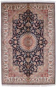 6foot silk kashmir carpet