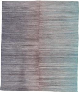 kelim rug 9x7 modern design