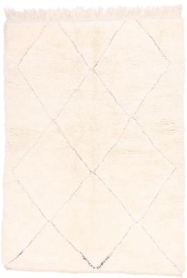 7x4 beni ourain berber carpet