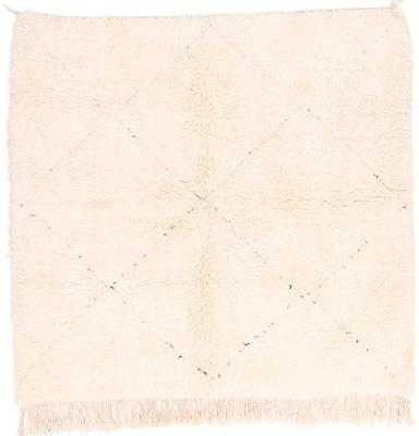 6foot square beni ourain berber rug