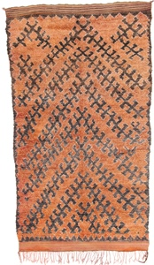 boujaad berber rug 9foot