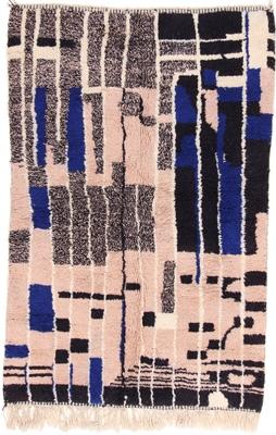 8x5 beni ourain berber carpet