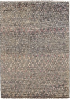 6x4 contemporary design handmade rug
