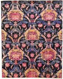 9x7 contemporary modern handmade rug