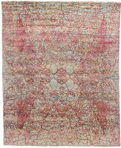 7x6 contemporary modern handmade rug