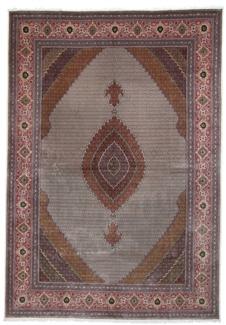 16x11 mahi tabriz rug with silk