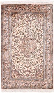 4x3 light silk kashmir carpet