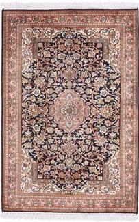 4x3 silk kashmir rug