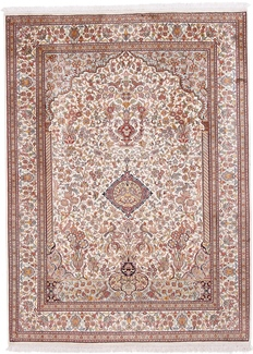 6x5 350kpsi silk kashmir carpet