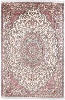 8x5 light silk kashmir carpet