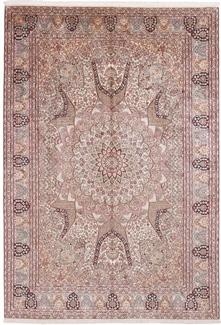 10x7 silk gonbad kashmir rug