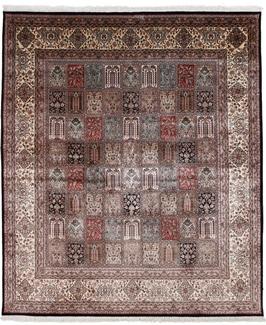 8x6 silk kashmir persian rug