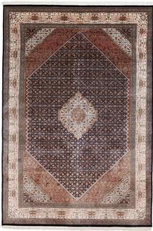 9x6 silk kashmir persian rug