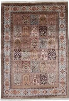 7x4 silk kashmir carpet
