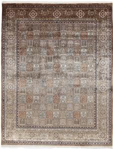 10x8 silk kashmir handmade carpet