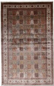 16x10 silk kashmir rug carpet
