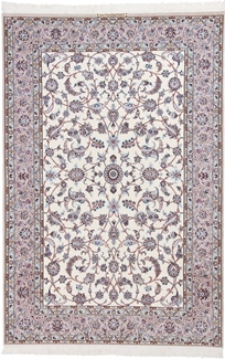 9ft by 6ft nain persian rug