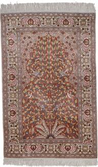 5ft kayseri silk turkish rug