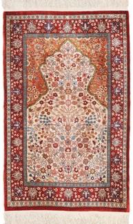 10 10 silk hereke turkish carpet