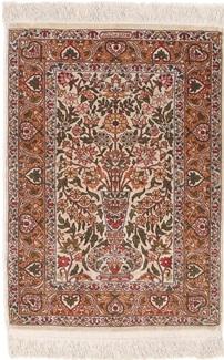 handmade hereke silk turkish rug