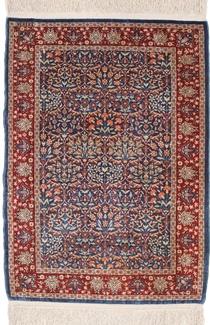 silk hereke signature turkish carpet