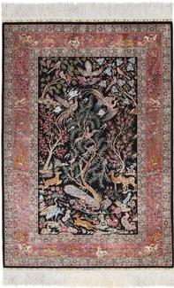 pictorial ozipek hereke silk carpet