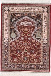 1200kpsi silk hereke turkish rug