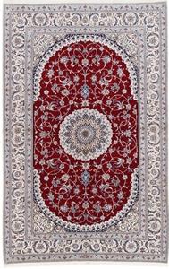 4lah 700kpsi silk nain persian rug