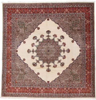 10foot square persian moud rug