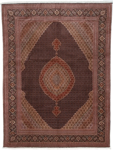 13by10foot mahi tabriz rug with silk