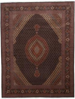 10x13 mahi tabriz persian rug with 350 kpsi.