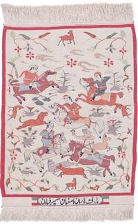 isfahan seyrafian silk persian rug