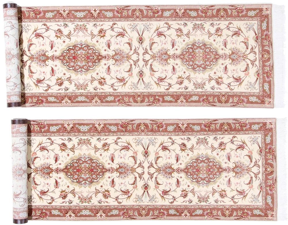Twin runners, twin persian rugs