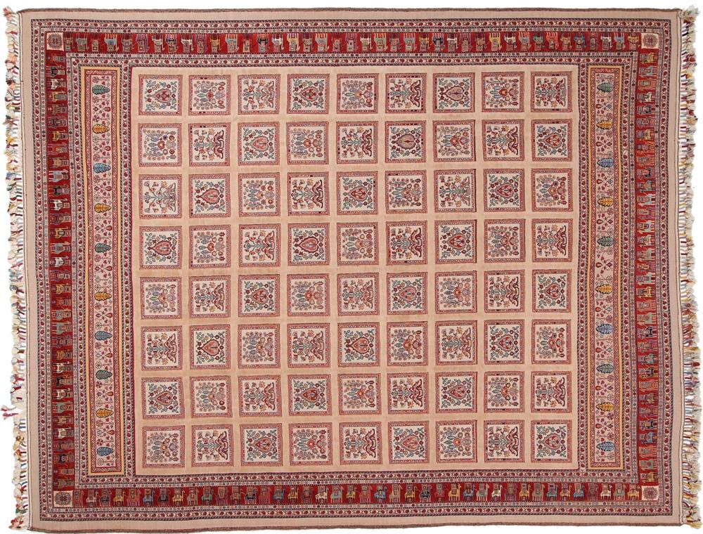 12x9 loribaft kelim persian rugs