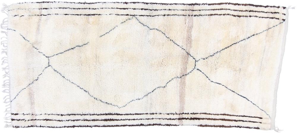 9x4 beni ourain berber rug