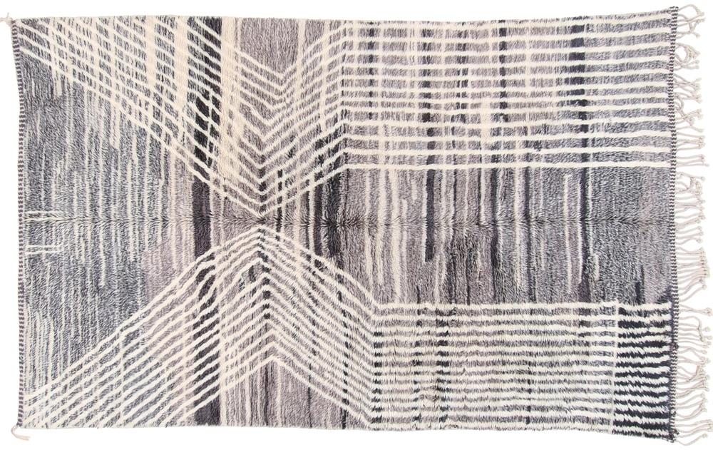 10x6 beni ourain berber rug