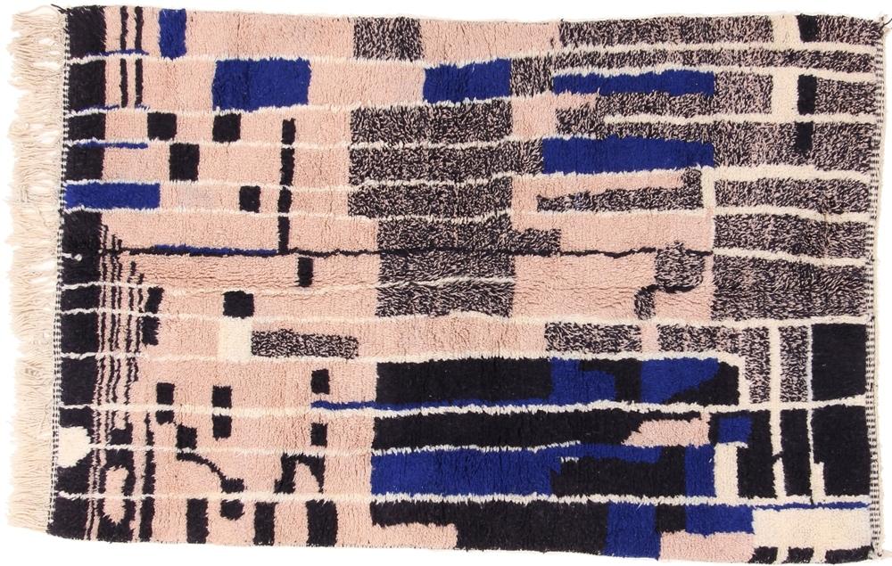 8x5 beni ourain berber rug