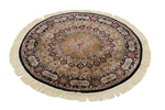 3foot round gonbad persian rug