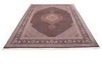 9x6 mahi tabriz rug with silk