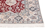 10x6 red nain persian rug
