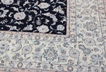 10x10 square nain persian rug