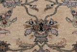 10x8 wool persian rug with silk highlights