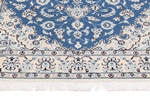 6x4 light blue nain persian rug