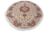 10x7 oval tabriz carpet