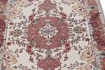 4x2 tabriz persian rug with silk