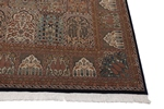 13x10 wool persian rug with silk highlights