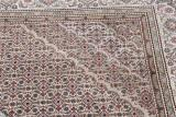 8x5 wool persian rug with silk highlights