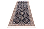 13x3 silk nain persian rug runner