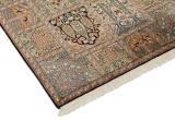 4x2 high quality silk kashmir persian carpet